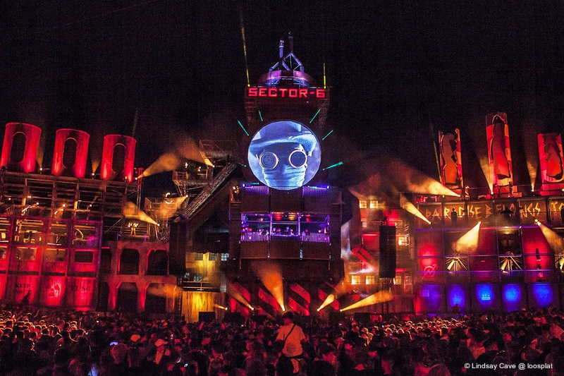Sector 6 Fires Up Boomtown Live Production Tv