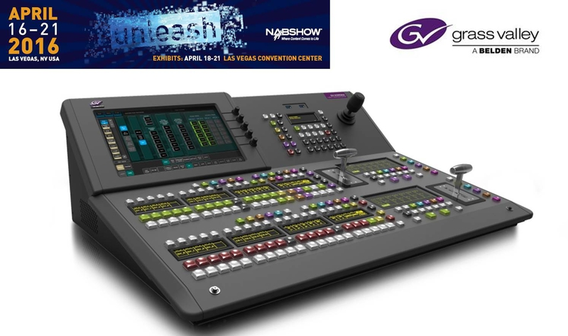 Grass Valley Debuts New Gv Korona Production Switcher At