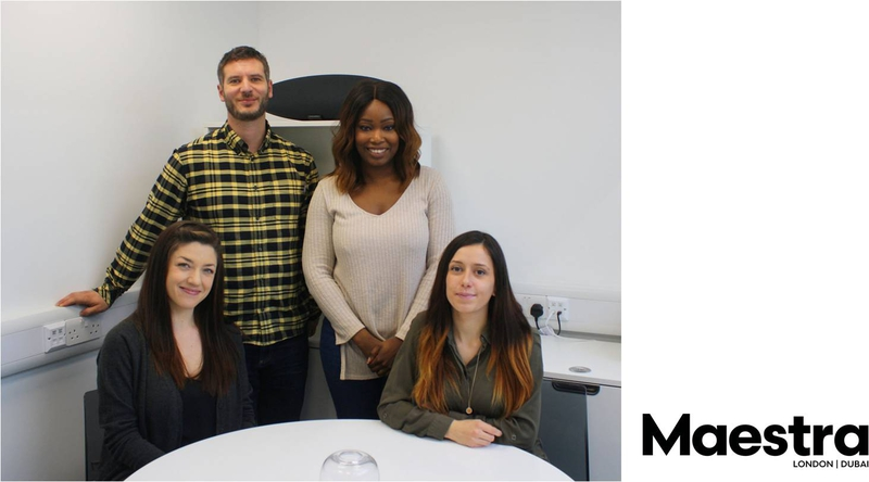 Maestra London Grows The Team Live Production Tv