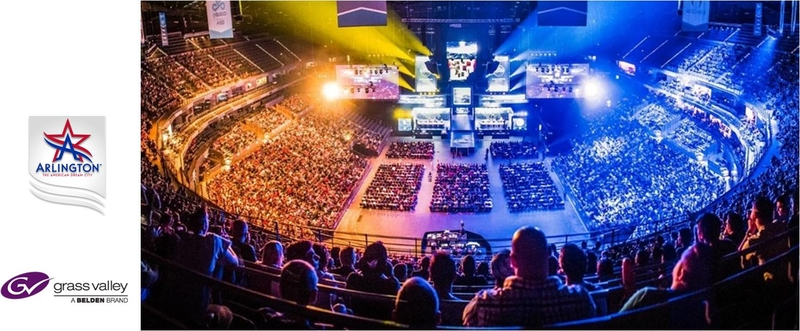 Grass Valley and Populous enable Esports Stadium Arlington Texas to