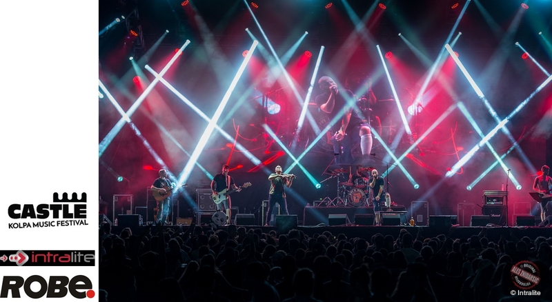 Intralite Rocks the Castle with Robe   LIVE-PRODUCTION TV