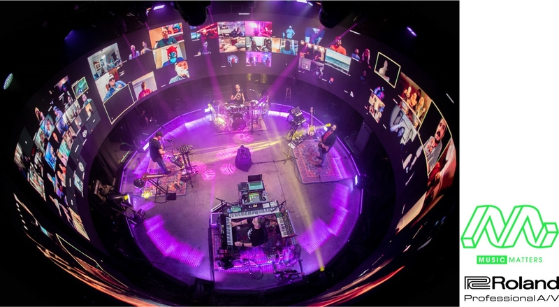 Music Matters Productions Relies On Roland V 600uhd 4k Hdr Multi Format Video Switcher To Embrace The New Era Of Event Production Live Production Tv