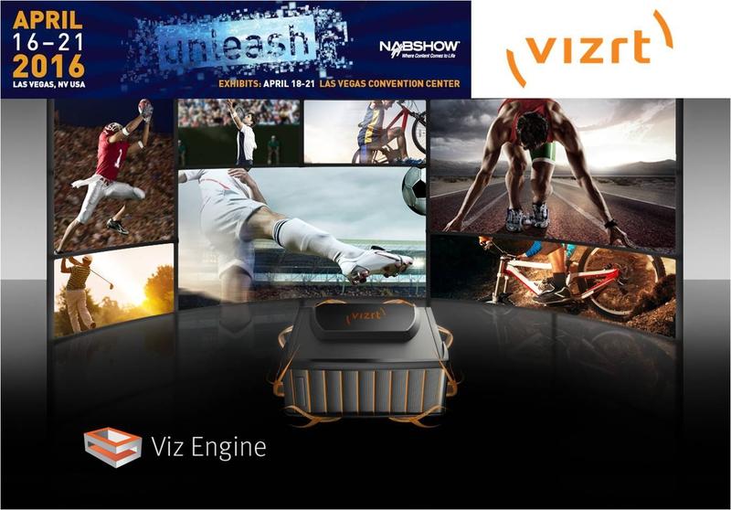 Vizrt's Viz Engine video server to future-proof storytelling