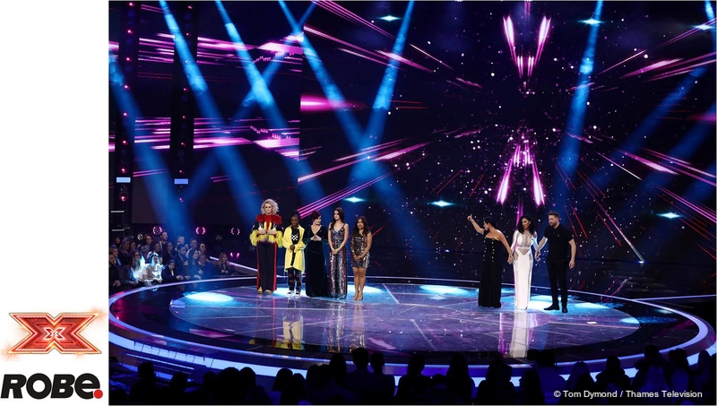 Robe MegaPointes for X-Factor UK | LIVE-PRODUCTION TV