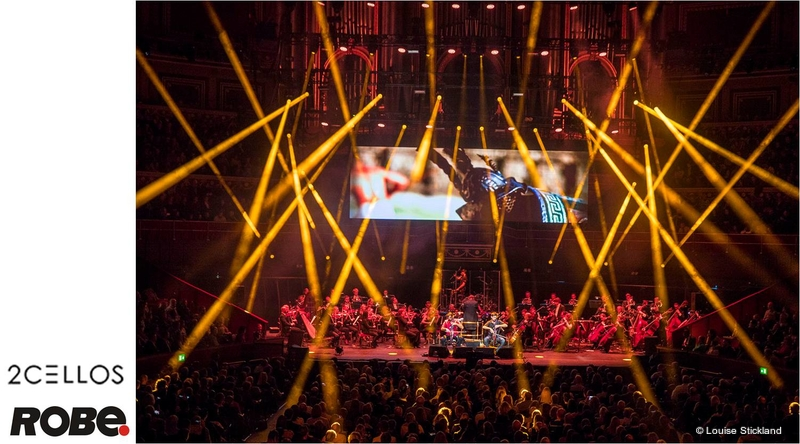 2CELLOS Thunderstruck with MegaPointes | LIVE-PRODUCTION TV