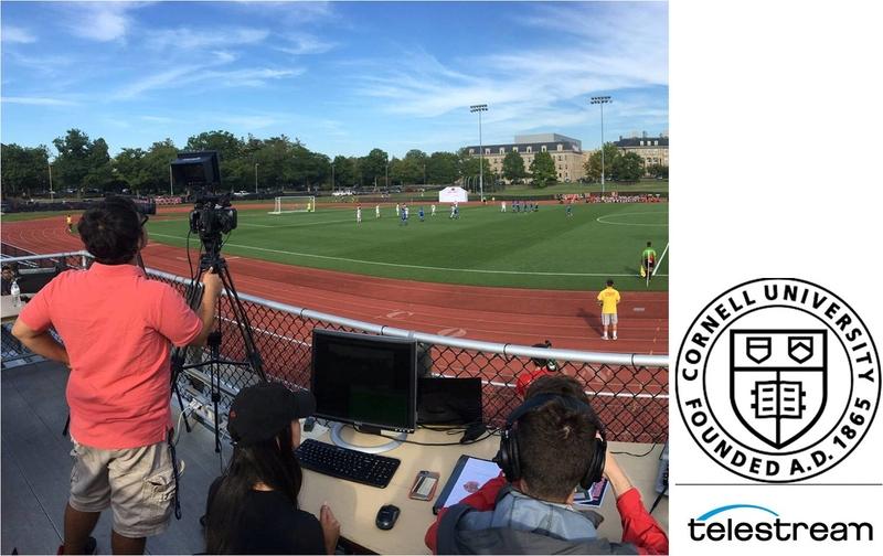 US-based Cornell University Raises its Game Streaming Live