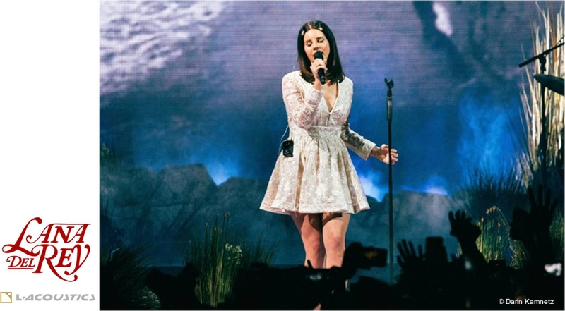 L Acoustics Brings Joie De Vivre To Lana Del Rey S Lust For Life Live Production Tv
