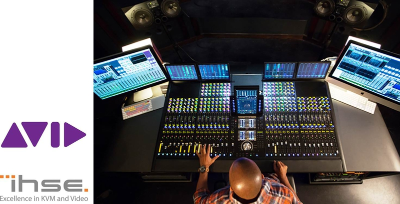 Avid selects IHSE as network KVM solution for Pro Tools | S6