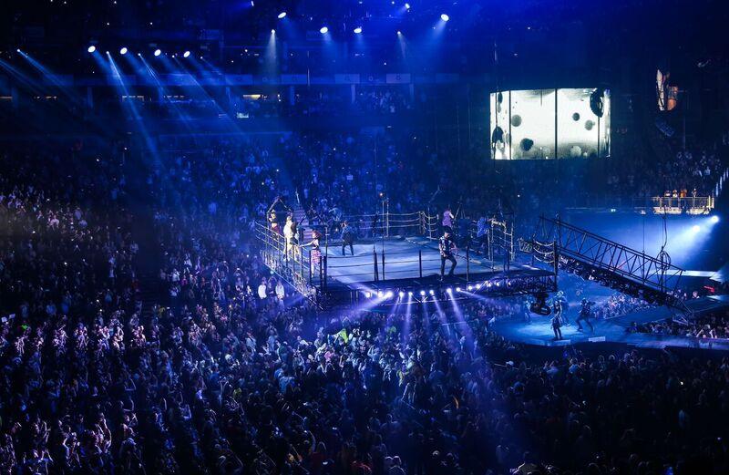 Justin Bieber Drum Solo Purpose Tour