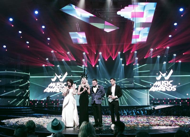 Clay Paky Sharpys Shine at the Danish Music Awards 2012