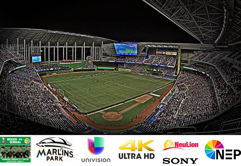 First North American Live Soccer Broadcast in 4K | LIVE