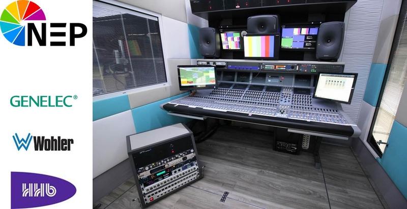 HHB supplies audio equipment for new NEP UHD OB truck | LIVE