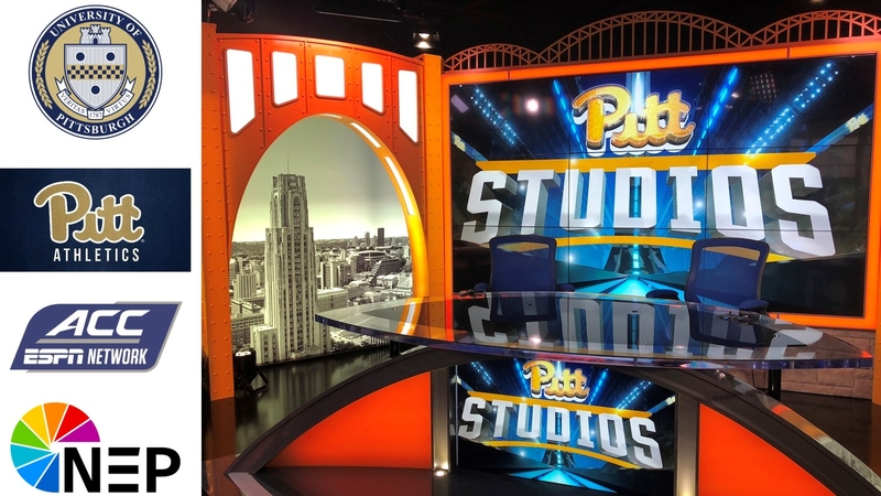 050696e7068 Pitt Athletics and the University of Pittsburgh, in conjunction with NEP  Group, unveiled Pitt Studios Thursday, Oct. 4 with a ribbon cutting  ceremony, ...