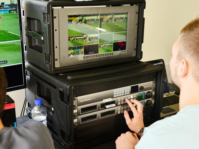 Nfts Selects Blackmagic Design Live Production Workflow For Sports Production Course Live Production Tv