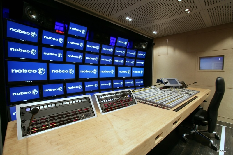 Ob trucks nobeo 1 live production tv for Interphone interieur