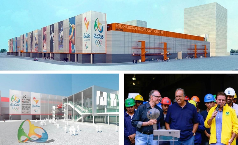 The International Broadcast Center (IBC) for the Olympics in