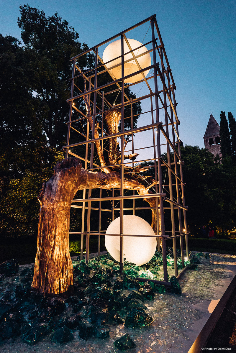 lighting protected paradise at the venice biennale | live