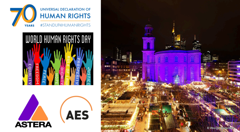 91c3b6ae65 Turning the Paulskirche Blue for Human Rights Day