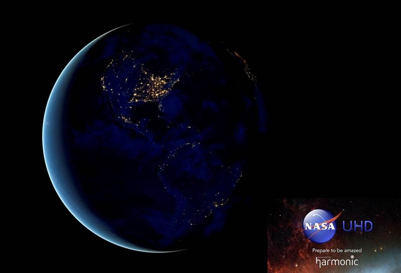 Harmonic Announces the Availability of NASA TV UHD | LIVE