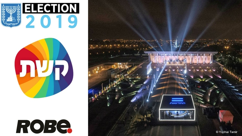 Robe Gets Elected in Israel | LIVE-PRODUCTION TV