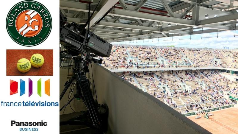 Panasonic 4K Cameras Bring Roland Garros to International Audiences