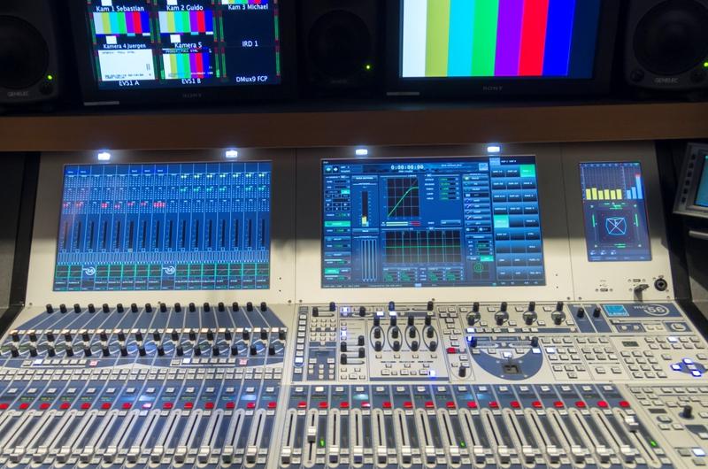 Communications Center Live Production Tv