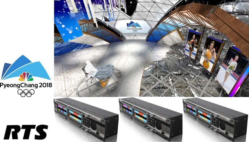NBC Olympics Selects RTS as its Broadcast Intercom Provider