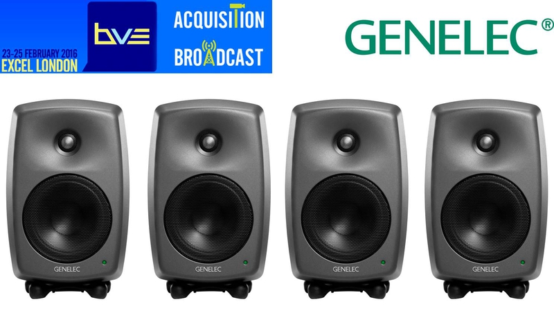 Acoustic Research Studio Monitor : Genelec showcases monitor at bve live production tv