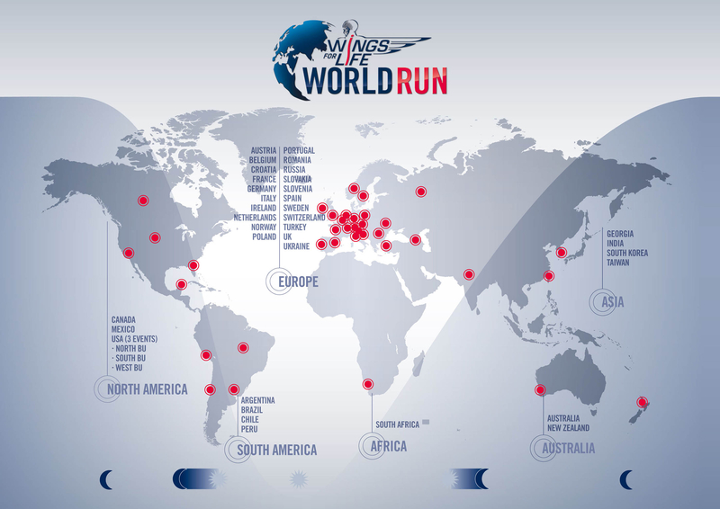 Map 4 Life.The Story Of Wings For Life World Run Live Production Tv