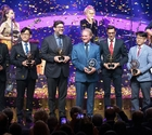 Olympic Golden Rings award winners unveiled in front of 1,000 guests in Lausanne