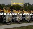 Caboose & Co. Launches UK-First 'Maverick' Pod at The Glamping Show