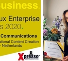 Xpresso Communications Awarded Best International Content Creation Specialists